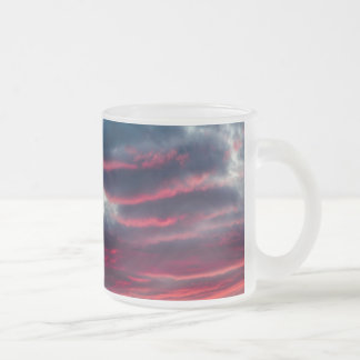 away from our window frosted glass coffee mug