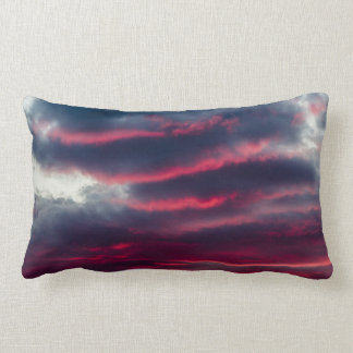 away from our window lumbar pillow