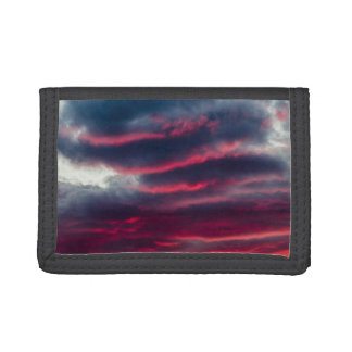 away from our window tri-fold wallets