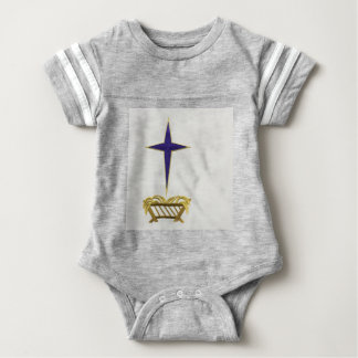 Away In a Manger Baby Bodysuit