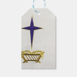 Away In a Manger Gift Tags