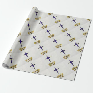 Away In a Manger Wrapping Paper