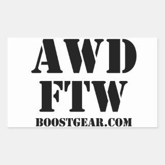 AWD FTW Sticker by BoostGear.com
