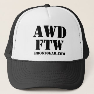 AWD - FTW Trucker Hat by BoostGear.com