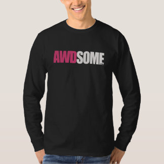 awdsome black long sleeve T-Shirt