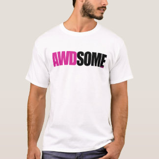 awdsome pink logo1 T-Shirt