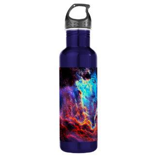 Awe-Inspiring Color Composite Star Nebula 710 Ml Water Bottle