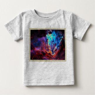 Awe-Inspiring Color Composite Star Nebula Baby T-Shirt