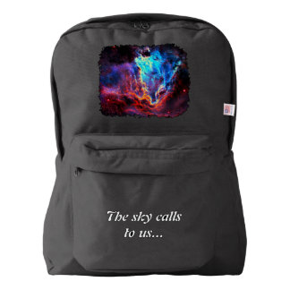 Awe-Inspiring Color Composite Star Nebula Backpack
