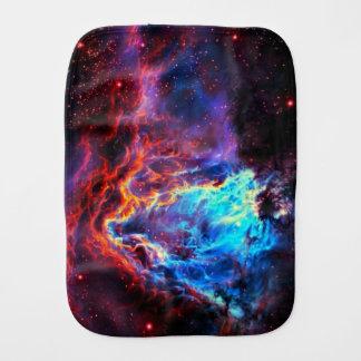 Awe-Inspiring Color Composite Star Nebula Burp Cloth