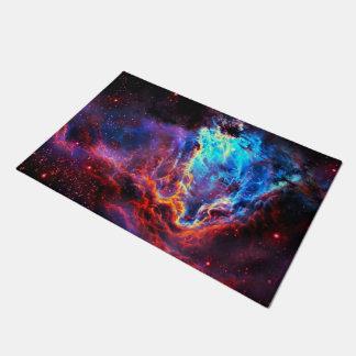 Awe-Inspiring Color Composite Star Nebula Doormat