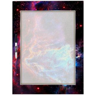 Awe-Inspiring Color Composite Star Nebula Dry Erase Board