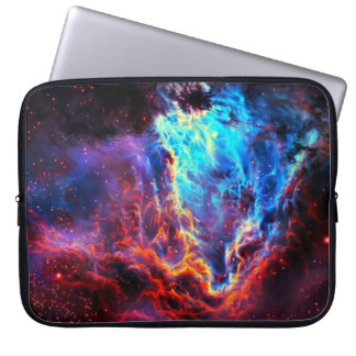 Awe-Inspiring Color Composite Star Nebula Laptop Sleeve
