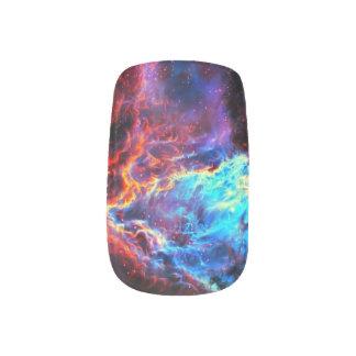 Awe-Inspiring Color Composite Star Nebula Minx Nail Art