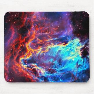 Awe-Inspiring Color Composite Star Nebula Mouse Pad