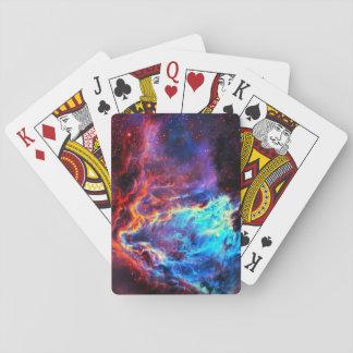 Awe-Inspiring Color Composite Star Nebula Playing Cards