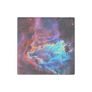 Awe-Inspiring Color Composite Star Nebula Stone Magnets