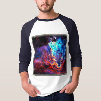 Awe-Inspiring Color Composite Star Nebula T-Shirt
