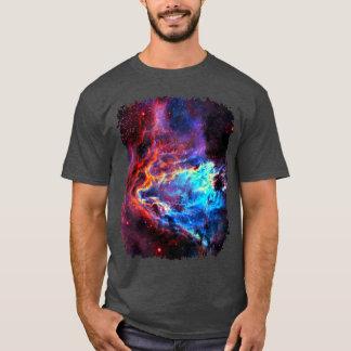 Awe-Inspiring Color Composite Star Nebula T-Shirt