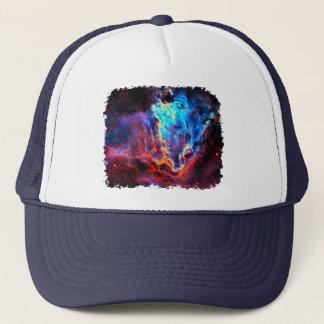 Awe-Inspiring Color Composite Star Nebula Trucker Hat