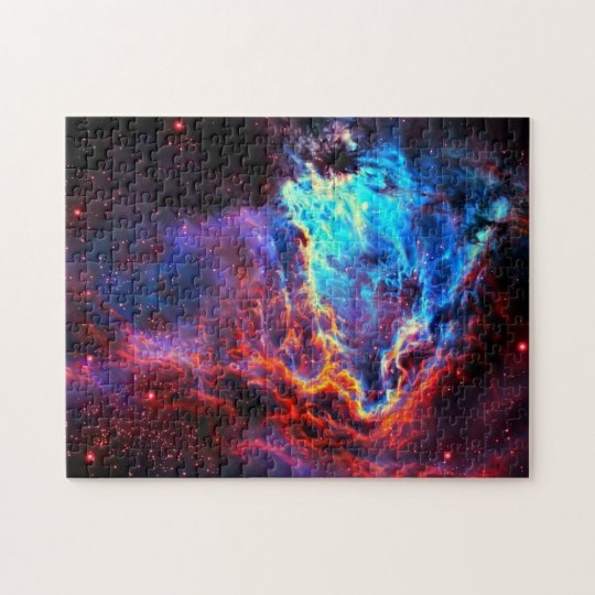 Awe-Inspiring Colour Composite Star Nebula Jigsaw Puzzle