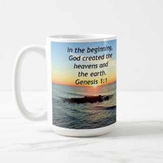 AWE-INSPIRING GENESIS 1:1 SUNRISE PHOTO DESIGN COFFEE MUG