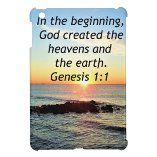 AWE-INSPIRING GENESIS 1:1 SUNRISE PHOTO DESIGN COVER FOR THE iPad MINI