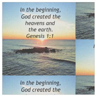 AWE-INSPIRING GENESIS 1:1 SUNRISE PHOTO DESIGN FABRIC