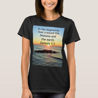 AWE-INSPIRING GENESIS 1:1 SUNRISE PHOTO DESIGN T-Shirt