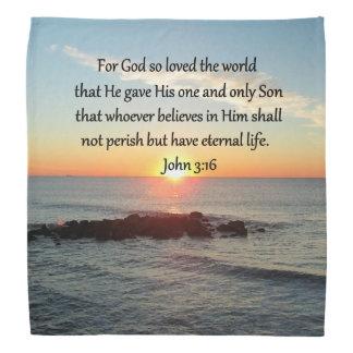 AWE-INSPIRING JOHN 3:16 SUNRISE BANDANA