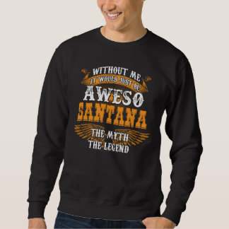 Aweso SANTANA A True Living Legend Sweatshirt
