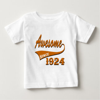 Awesome 1924 Birthday Designs Baby T-Shirt