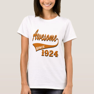 Awesome 1924 Birthday Designs T-Shirt