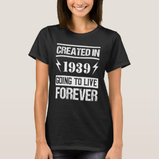 Awesome 1939 Birthday Shirt. Best Gift Ideas. T-Shirt