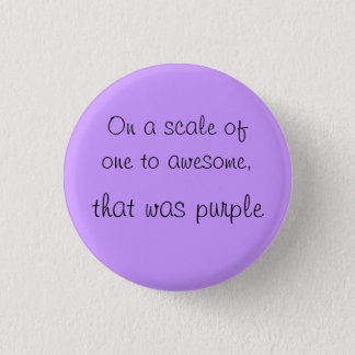 Awesome 1 Inch Round Button