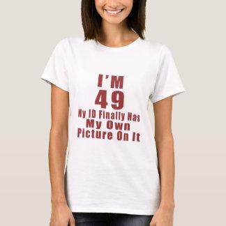 Awesome 49 Birthday Designs T-Shirt