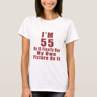 Awesome 55 Birthday Designs T-Shirt