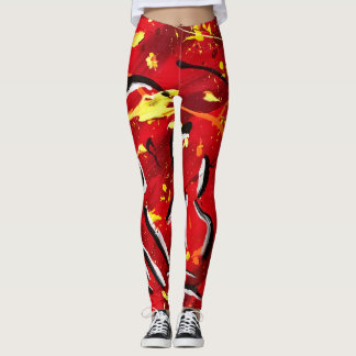 Awesome abstract leggings