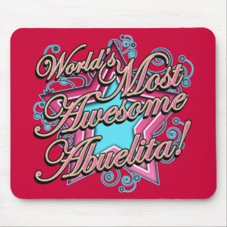 Awesome Abuelita Mouse Pad