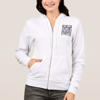 Awesome Actuary Hoodie