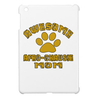 AWESOME AFRO-CHAUSIE MOM iPad MINI COVER