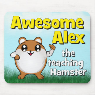 Awesome Alex teaching thumb up Mouse Pad