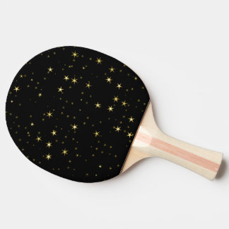 Awesome allover Stars 02A Ping Pong Paddle