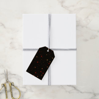 Awesome allover Stars 02B Gift Tags