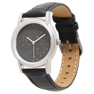 Awesome allover Stars 02B Wristwatch