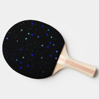Awesome allover Stars 02C Ping Pong Paddle