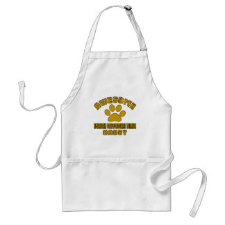 AWESOME AMERICAN STAFFORDSHIRE TERRIER DADDY STANDARD APRON