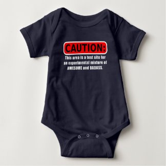 Awesome and Badass Baby Bodysuit