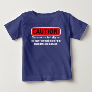 Awesome and Badass Baby T-Shirt