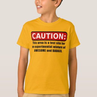 Awesome and Badass T-Shirt